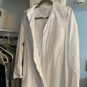 White work dress